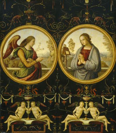 Giannicola di Paolo, 'The Annunciation', 1510/1515