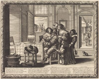 Abraham Bosse, 'The Prodigal Son in a House of Ill-Repute'