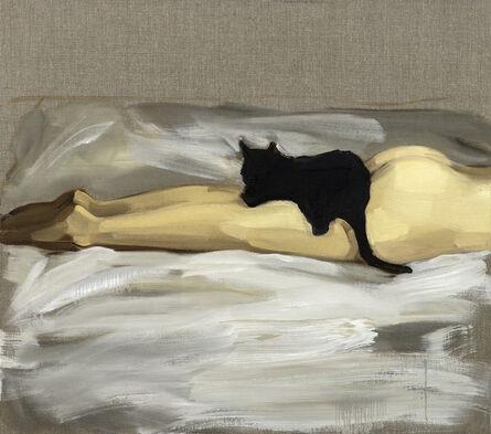 Gideon Rubin, 'Black Cat', 2018
