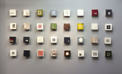 Lori Katz, 'Installation of Small Squares', 2017
