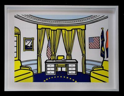 Roy Lichtenstein, 'Roy Lichtenstein 'Oval Office' Screenprint 1992', 1992