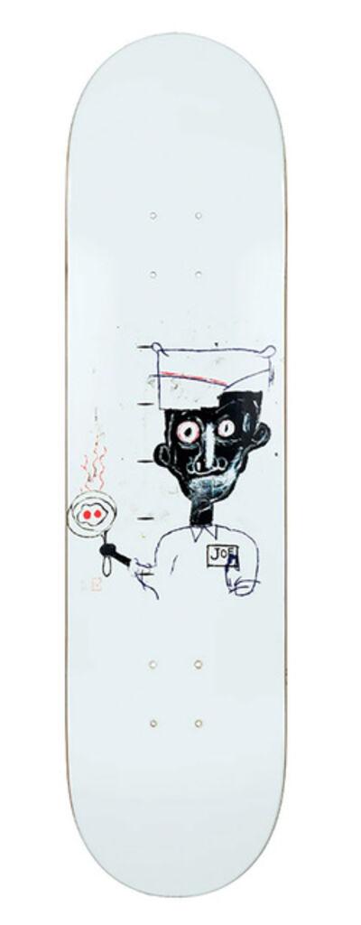 Jean-Michel Basquiat, 'Basquiat Eyes and Eggs Skate Deck', 2018