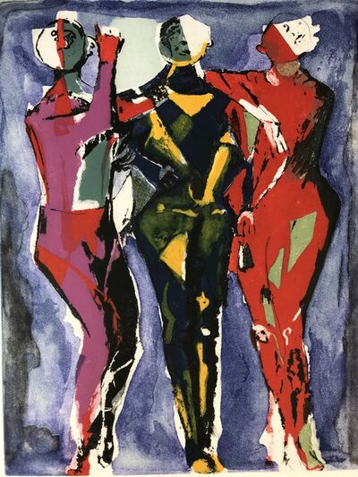 Marino Marini, 'GIOCOLIERI', 1978