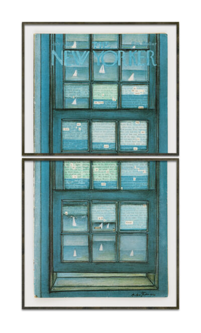 Natalie Czech, 'A window view by Langston Hughes (Boats)', 2021