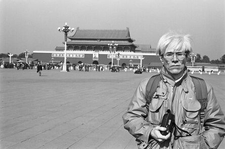 Christopher Makos, 'Andy Warhol in Tiananmen Square ', 1982