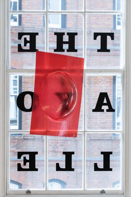 Stano Filko, 'Woman's breast (red)', 1966