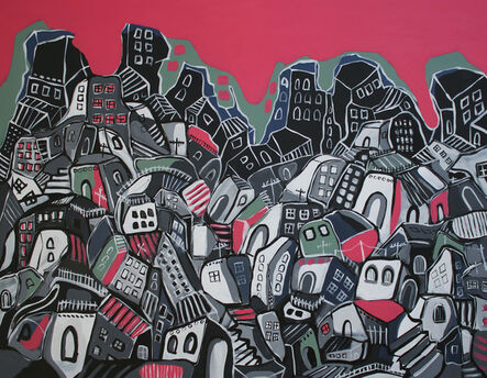 Bashir Qonqar, 'A Pile of City', 2016