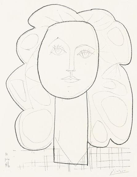 """Pablo Picasso, '""""Françoise""""', 14.06.1946"""