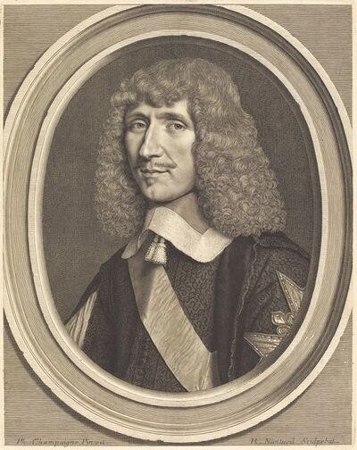 Robert Nanteuil after Philippe de Champaigne, 'Leon-Bouthillier, Comte de Chavigny', 1651