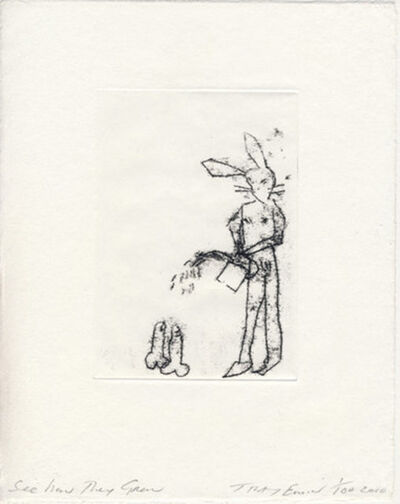 """Tracey Emin, '""""SEE HOW THEY GROW""""', 2010"""