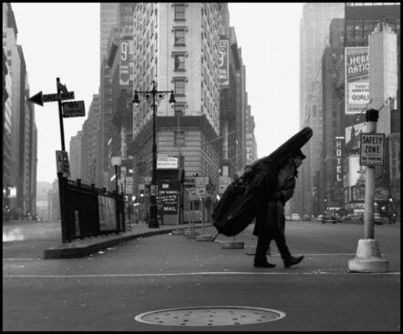 Dennis Stock, 'Bill Crow in New York', 1958