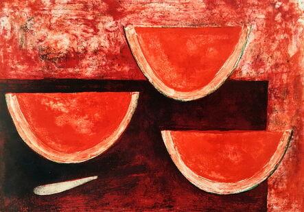 Rufino Tamayo, 'Sandias (Watermelons)', 1969