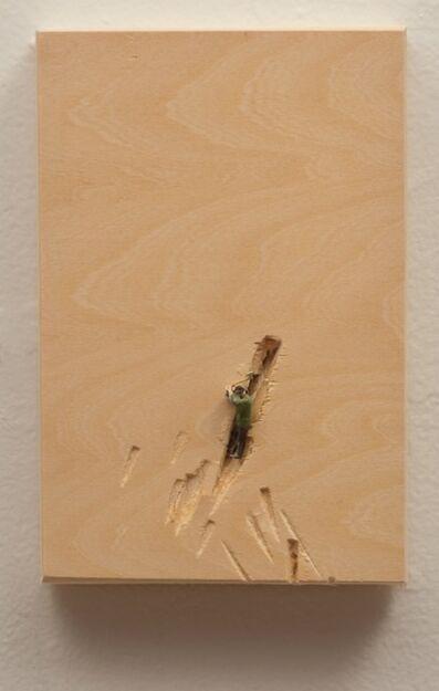 Liliana Porter, 'Man with axe, green vest', 2014