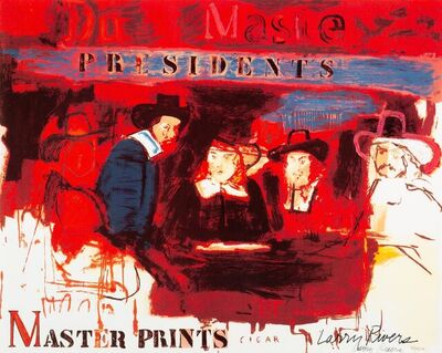 Larry Rivers, 'Dutch Masters (Presidents)', 1990