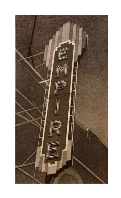 Robert Cottingham, 'Empire (vertical)', 2012
