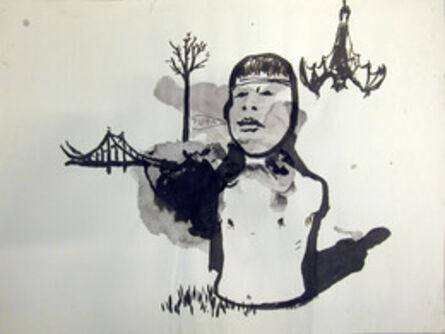 Damien Deroubaix, 'El sueno de la razon produce montruos', 2009