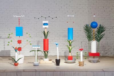 Roman Sakin, 'Artistic pollination or regular plants', 2012