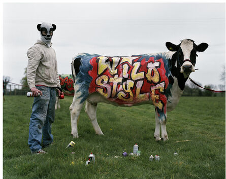 Tim Walker, ''Banksy' & his wildstyle cow. Oxfordshire, 2007', 2019
