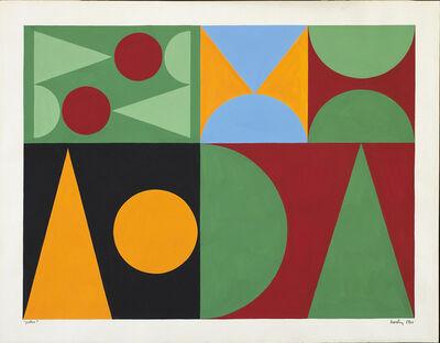 Auguste Herbin, 'Poker', 1946