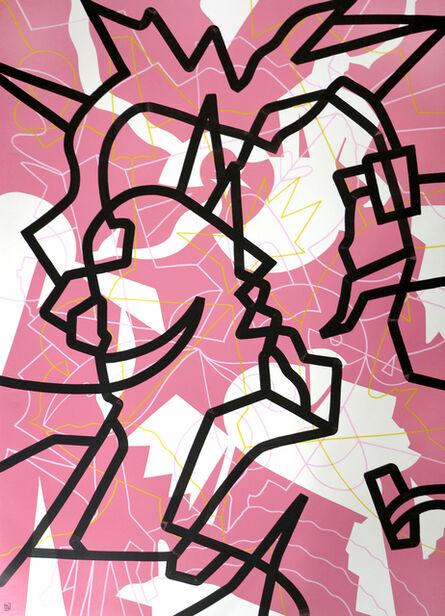 Al Luke, 'Crystal Lattice - Pink', 2021