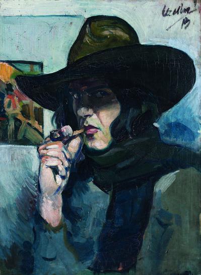 MILIVOJ UZELAC, 'Self-portrait   ', 1913