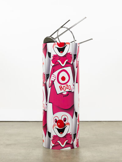 """Kathryn Andrews, '""""Bozo""""™ """"The World's Most Famous Clown"""" Bop Bag with Occasional Performance (Pink Variation)', 2014"""