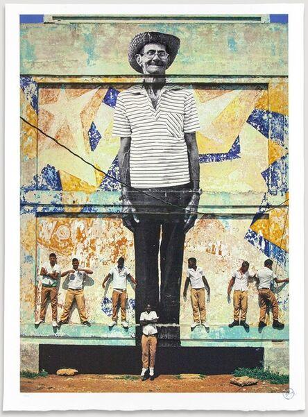 JR, 'The Wrinkles of The City, La Havana, Antonio Cruz Gordillo, Cuba, 2012', 2020