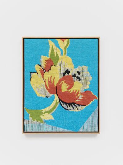Lisa Oppenheim, 'Jacquard Weave (Flower)', 2017