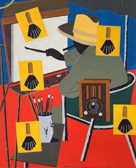 Eduardo Arroyo, 'Radio Londres', 2016
