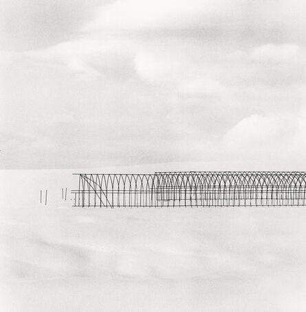Michael Kenna, 'Greenhouse Structure, Study 2, Biei, Hokkaido, Japan', 2004