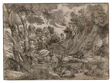 Niccolò Boldrini, 'Saint Jerome in the Wilderness', c. 1525-1530