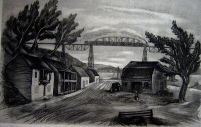 Albert Heckman, 'Cross-Roads', 1940