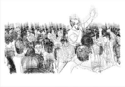 Ideal word, 'Techno preacher III', 2008
