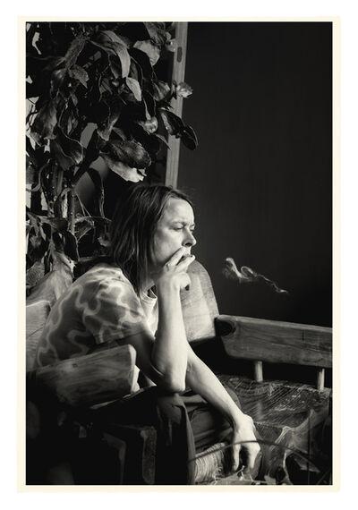 Julian Simmons, 'SARAH SMOKING', 2014