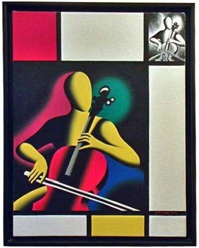 Mark Kostabi, 'Mostly Mondrian', 1998