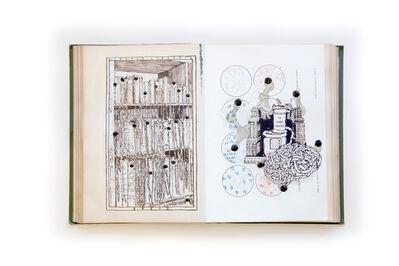 Thomas Feuerstein, 'Transsubstantiationsbibliothek', 2012