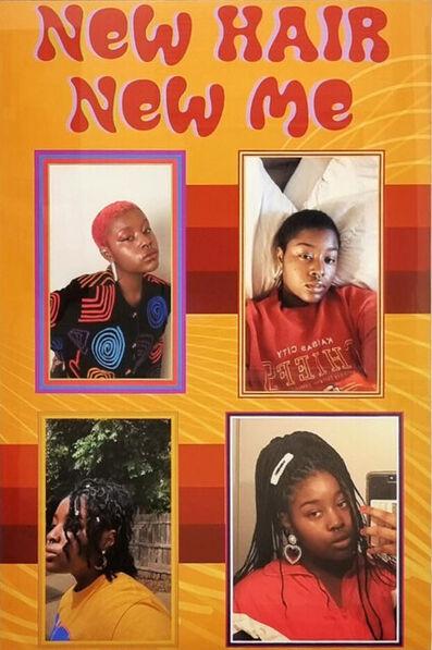 Tajere Terry, 'New Hair New Me', 2021