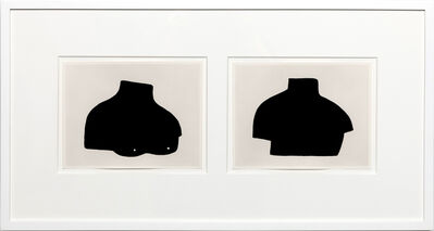 Amy Pleasant, 'Bust (front) and Bust (back)', 2017
