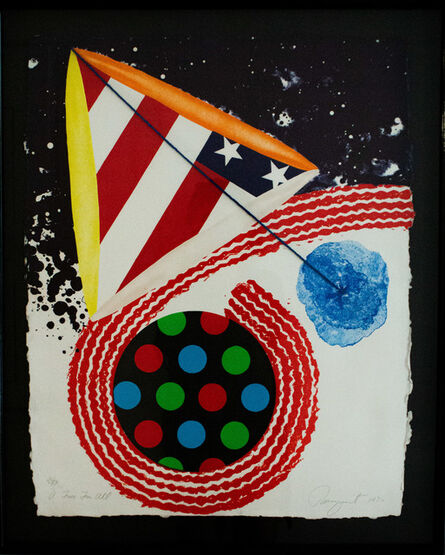 """James Rosenquist, '""""A free for all""""', 1976"""