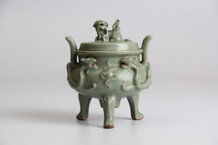 Unknown Artist, 'Celadon incense burner', ca. ca. 14th century