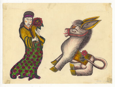 Rosie Camanga, 'Untitled (Donkey)', ca. 1950