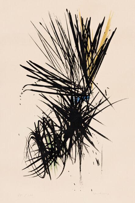 Hans Hartung, 'L12', 1957