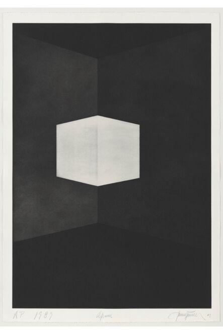 James Turrell, 'Afrum (First Light) ', 1989-1990