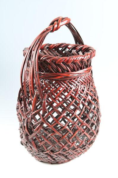 Katsushiro Soho, 'Bamboo Basket (T-3720)', Heisei era (1989-present) ca 2005