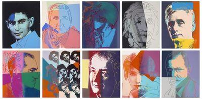 Andy Warhol, 'Ten Portraits of Jews of the Twentieth Century', 1980