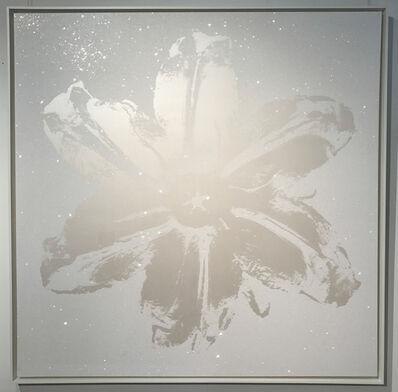 Rubem Robierb, 'Power Flower - White Pearl', 2016