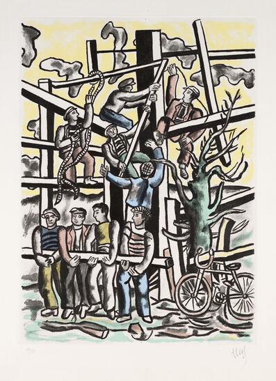 Fernand Léger, 'Builders ', 1953