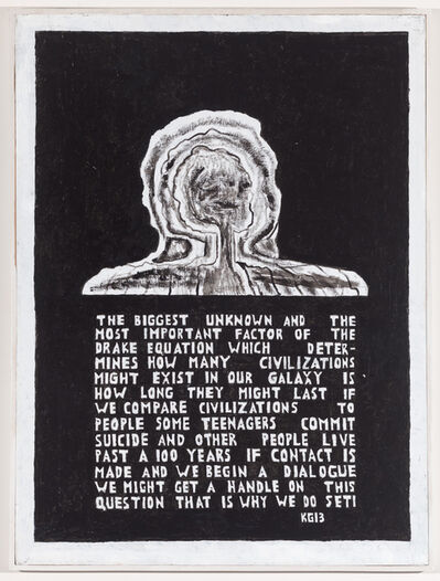 Ken Grimes, 'Untitled (The Biggest Unknown)', 2013