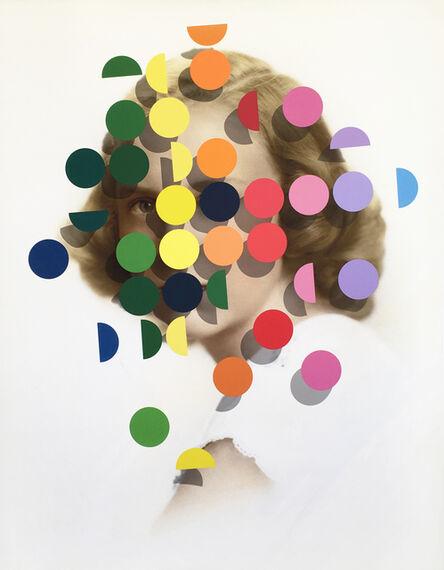 Julie Cockburn, 'Dapple (Rainbow Women 1)', 2019