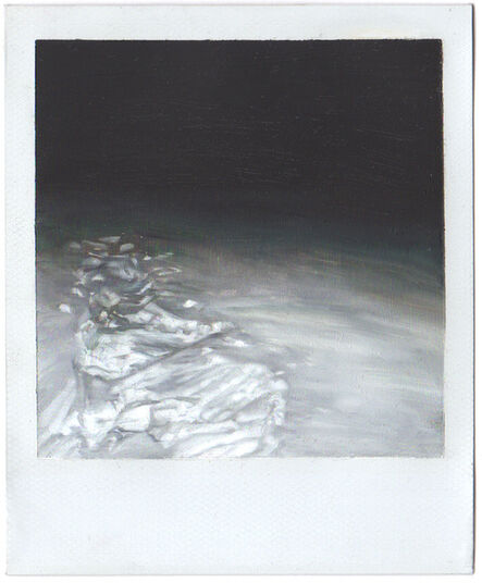Martí Cormand, 'Footprints in the Snow at Night', 2019